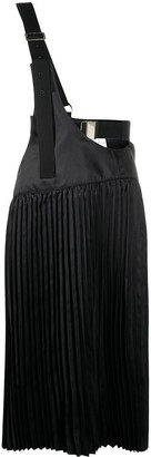 Junya Watanabe Asymmetric Pleated Dress