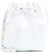 Mansur Gavriel Mini Leather Bucket Bag