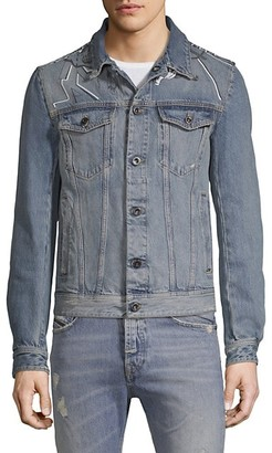 Diesel DBG Graphic Denim Jacket