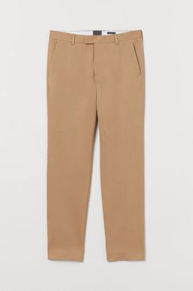 H&M Slim Fit Cotton Chinos - Beige