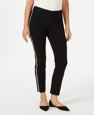 JM Collection Embellished Side Stripe Pant, Created for Macy's