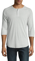 Alternative Apparel Eco Jersey Baseball Henley Shirt