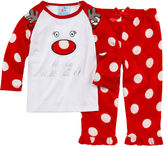 Asstd National Brand Girls Pant Pajama Set-Toddler