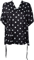 Christian Wijnants polka-dot top - women - Silk - 38