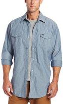 Wrangler Men's Big-Tall Cowboy Cut Work Western Shirt