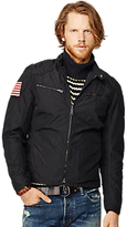 Denim & Supply Ralph Lauren Motorcycle Lined Jacket, Polo Black