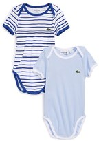 Lacoste Bodysuit (2-Pack) (Baby)