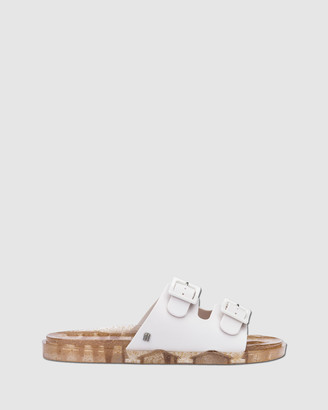 Melissa Women's White Slides Wide Slides - Size One Size, 37 at The Iconic