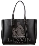 Lanvin Mother-Daughter Studded Shopper Tote