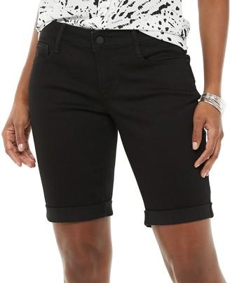 Apt. 9 Women's Denim Bermuda Shorts