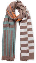 The Two Mrs Grenvilles Geometric Scarf