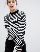 Lazy Oaf Bow Tie Long Sleeve T-shirt