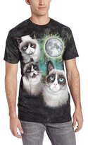 The Mountain Men's Three Grumpy Cat Moon T-Shirt