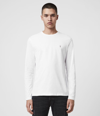AllSaints Brace Tonic Long Sleeve Crew T-Shirt