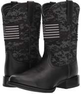 Ariat Sport Patriot Round Toe Cowboy Boots