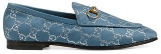 Gucci Women's Jordaan GG Lame Loafers