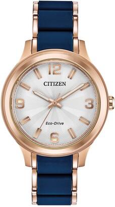 Citizen Women's Eco-Drive Silicone Bracelet Watch, 36mm
