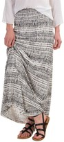 Cynthia Rowley Central Park Print Maxi Skirt (For Women)