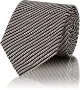 Boglioli Men's Striped Silk-Cotton Necktie