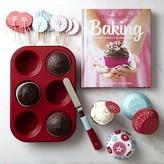 American GirlTM Cupcake Baking Essentials Set and Cookbook Gift Set