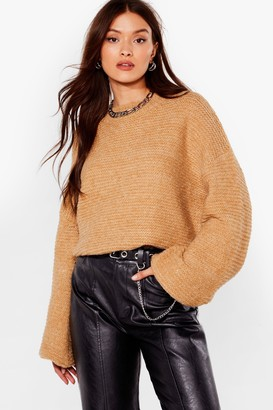 Nasty Gal Do You Be-Sleeve Relaxed Sweater