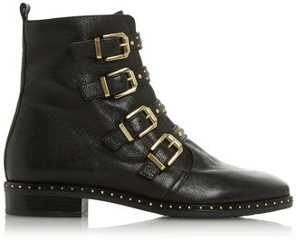 Dune London Pixxel 2 Studded Leather Boots
