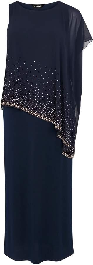 c6b3446740 Plus Size Short Sleeve Navy Dress - ShopStyle UK