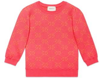 Gucci Metallic Logo Jacquard Sweater