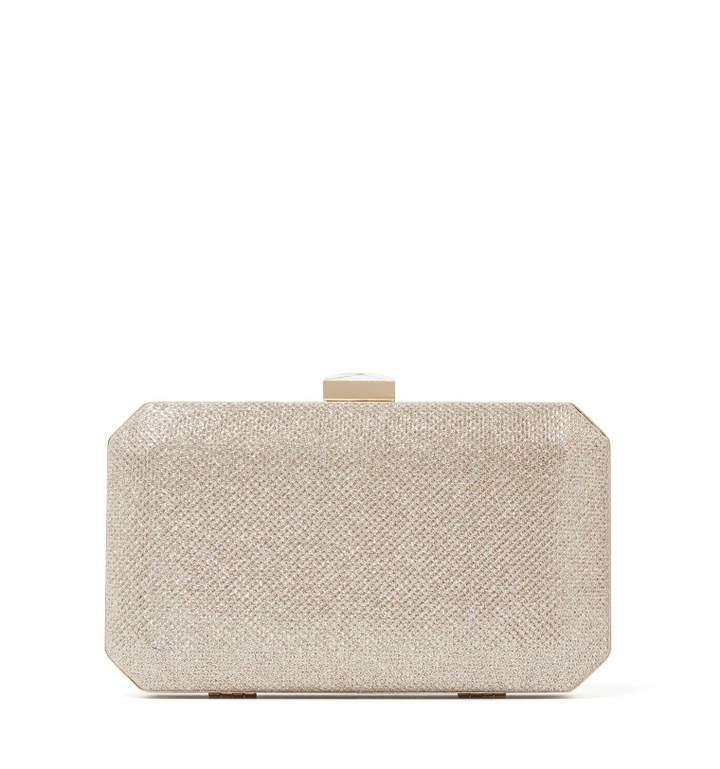 Elle Geo Box Clutch Bag