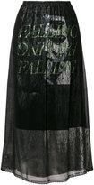 McQ fluid skirt
