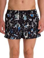 Dolce & Gabbana Men's Musical Printed Swim Shorts