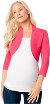 Motherhood Maternity Cropped Cardigan