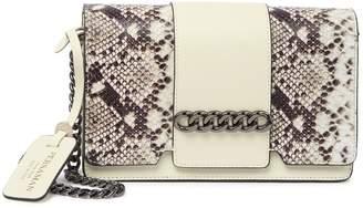 Persaman New York Ethel Snakeskin Embossed Leather Crossbody Bag