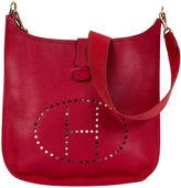 One Kings Lane Vintage Hermès Evelyne GM Rouge Vif Epsom Bag