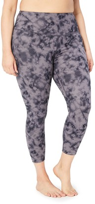 Core 10 Amazon Brand Women's Spectrum Yoga High Waist 7/8 Crop Legging - 24""