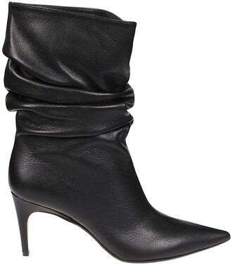 Sergio Rossi Sr Cindy Ruched Boots