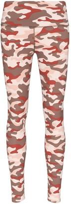 Varley camouflage-print leggings
