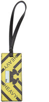 Off-White luggage tag keyring - men - Leather - One Size