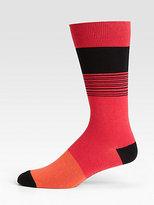 Marc by Marc Jacobs Dylan Stripe Socks