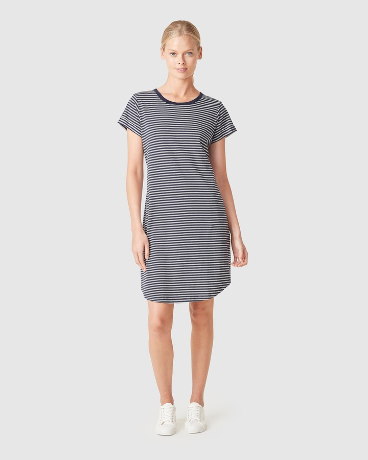 French Connection Women's Dresses - Relaxed T Shirt Dress - Size One Size, XS at The Iconic