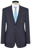 J. Lindeberg Comfort Stretch Wool Slim Suit Jacket, Navy