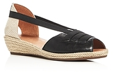 Gentle Souls Luci Demi Wedge Espadrille Sandals