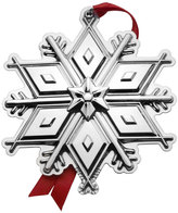Mikasa Tuttle® 2017 Sterling Snowflake Ornament 3rd Edition