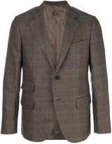 Caruso formal check blazer