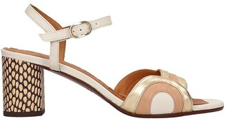 Chie Mihara Losma P Sandals In White Leather