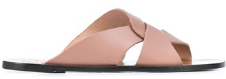 ATP ATELIER Allai twisted strap sandals