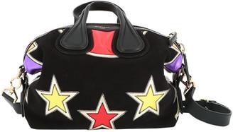 Givenchy Nightingale Black Suede Handbags