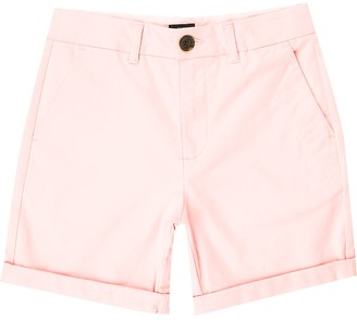 River Island Boys pink chino shorts