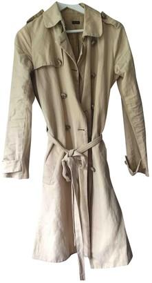 Joseph Beige Linen Coat for Women