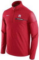 Nike Men's Rutgers Scarlet Knights Elite Coaches Dri-FIT Pullover